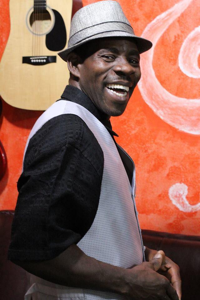 Reggae singer Dan Ij