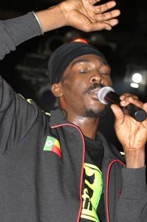 Reggae artiste Anthony B