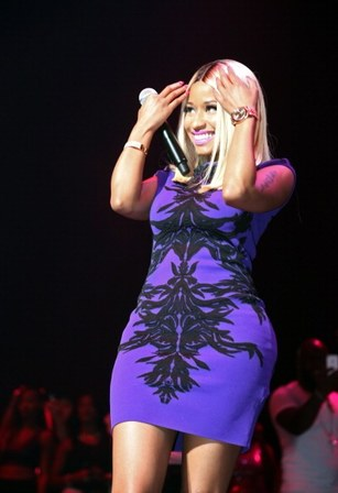 Dancehall and pop artiste Nicki-Minaj