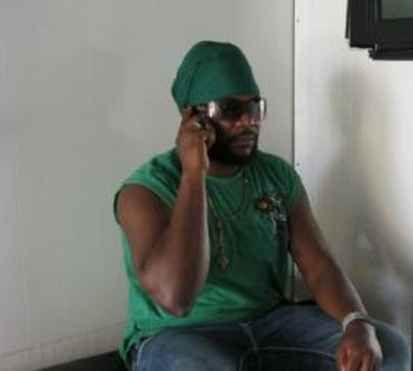 Dancehall artiste Ras myrhdak aka Di 1st King