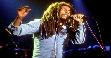 Reggae music legend Bob Marley