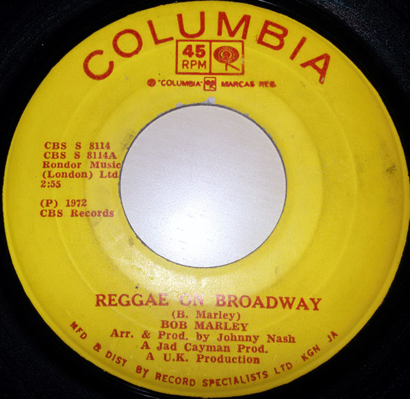 Bob Marley Reggae On Broadway