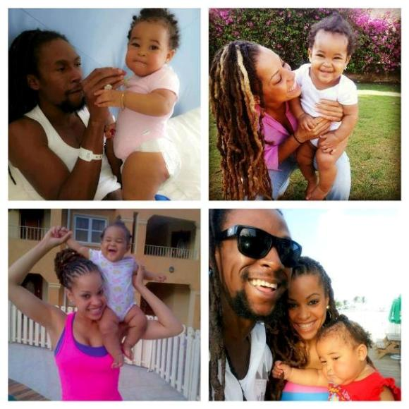 Jah Cure and his Family