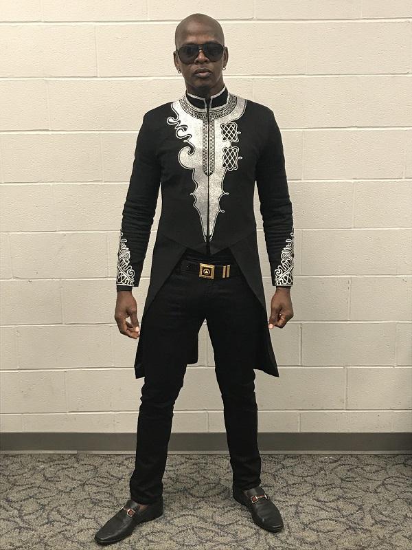 Dancehall artist Mr. Vegas