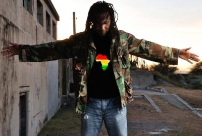 Reggae artist Aaron Silk