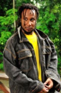 Reggae artiste Aaron Silk