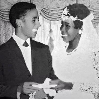 Bob Marley and Wife Rita Marley