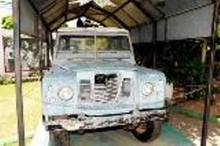 Bob Marley's Famous Land Rover Goes Under Restoration