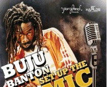 Buju Banton Set Up The Mic