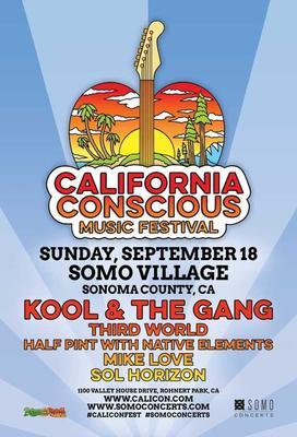 California Conscious Music Festival (aka CaliCon) with Kool & The Gang