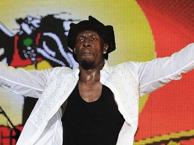 Dancehall artist Shabba Ranks