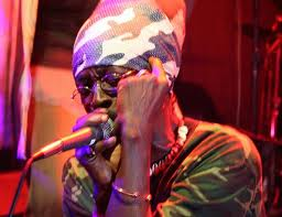 Dancehall Reggae singer General Smiley