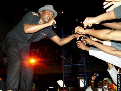 Dancehall reggae singer Mic Inity
