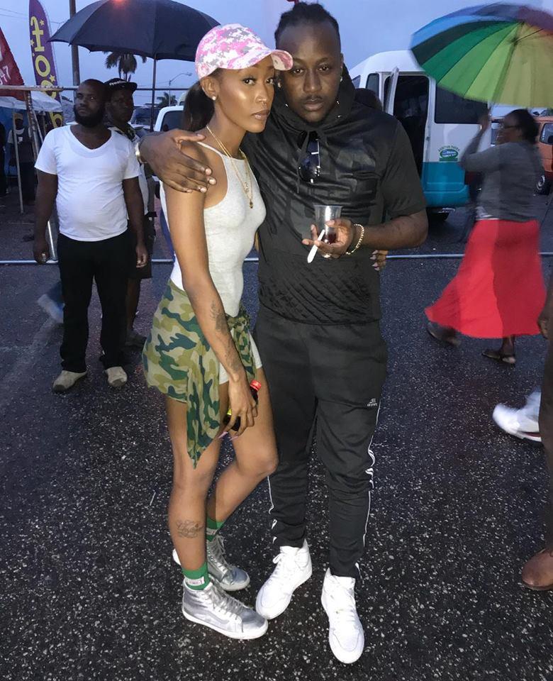 Desharavers and Dancehall Reggae artiste Navino