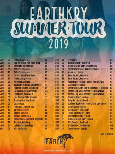 EarthKry Announce USA Tour Dates Alongside  Katachafire