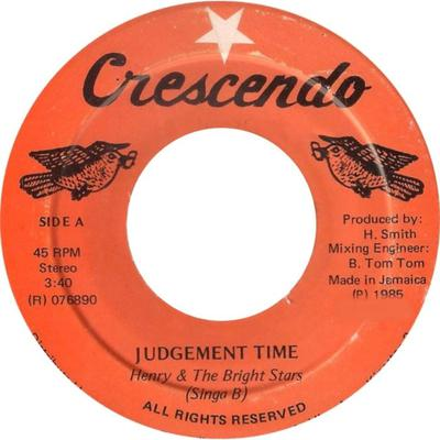 Judgment Time (Cover Photo)