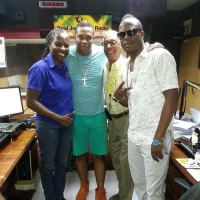 RDX with Paula and Allan at RJR94FM