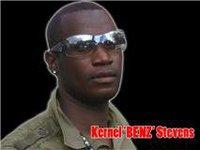 Reggae artiste Kernel Benz Stevens