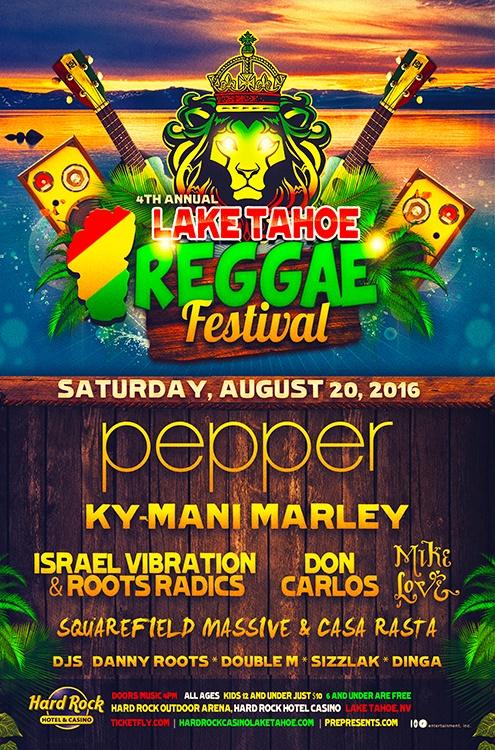 Lake Tahoe Reggae Festival 2016