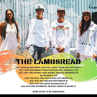 Hawaii's Reggae Band The Lambsbread Kick Off Summer Tour