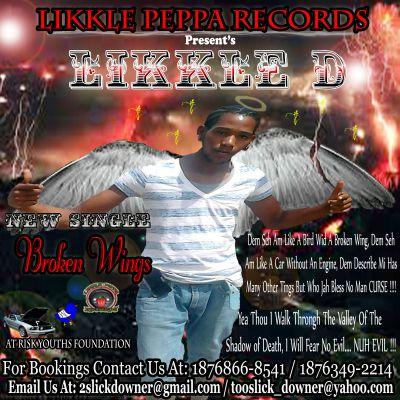 Likkle D - Broken Wings Cover