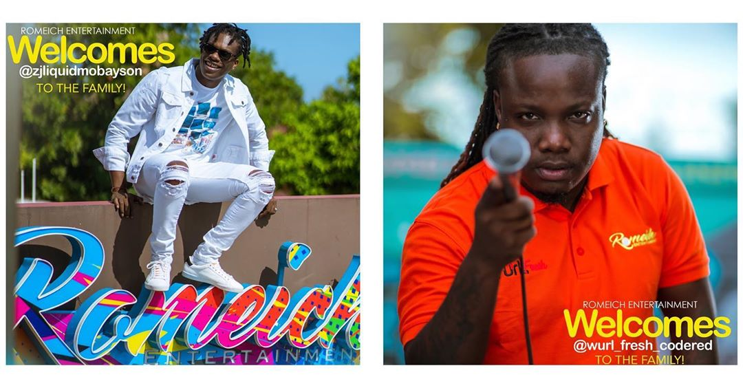 Zj Liquid and Wurl Fresh Code Red signed to Romeich Entertainment