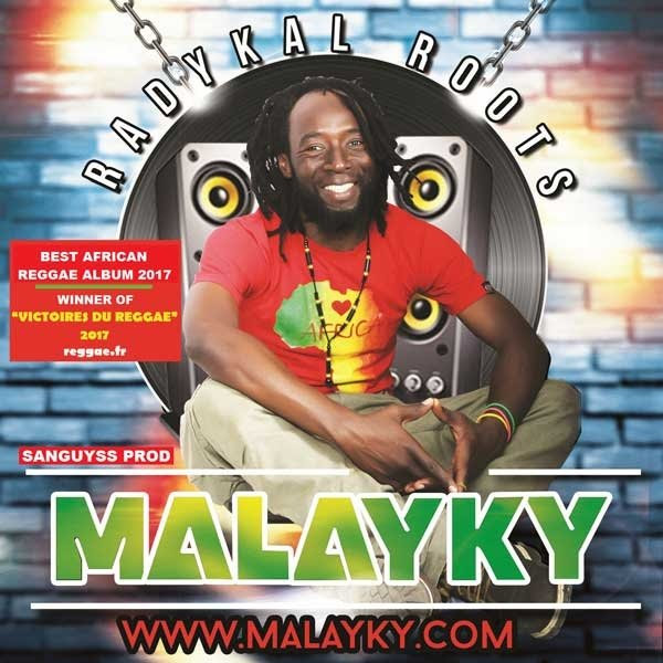 Reggae artiste Malayky