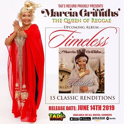 Marcia Griffiths' Timeless Album Cover