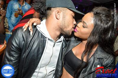 Marvin 'Di Beast' and Dancehall Queen Nickeishia