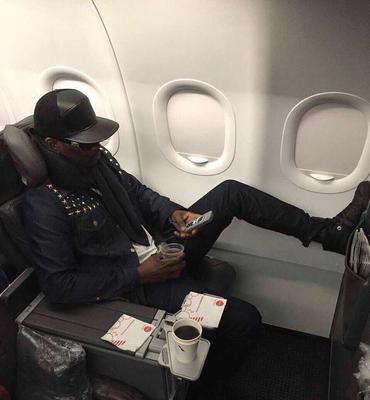 Busy Signal On His Way to New Orleans.