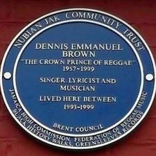 Dennis Brown's Plaque