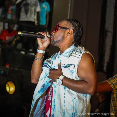 Reggae artist Rayvon