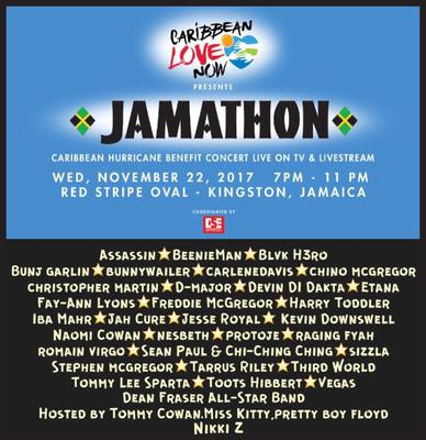 Reggae Sumfest Presents The JAMATHON Benefit Concert