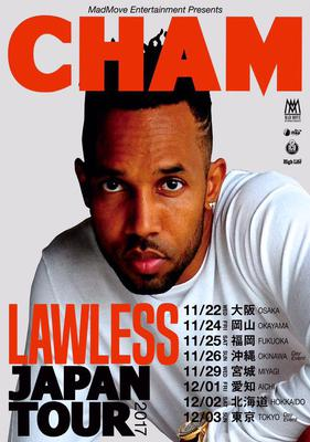 Cham #LawlessTour #Japan Fall 2017
