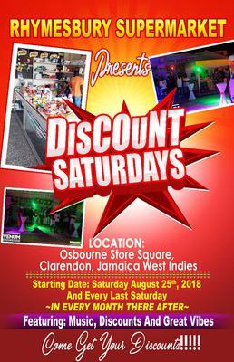Discount Saturdays