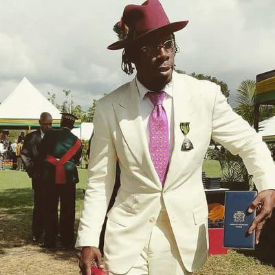 Dancehall artist Shabba Ranks