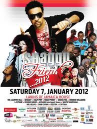 Shaggy and Friends 2012