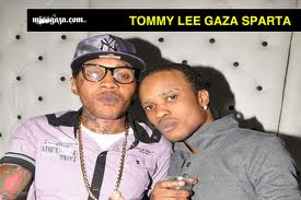 Vybz Kartel(left) and Tommy Lee[Gaza Sparta](right)