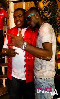 Raddy rich on Dutty Love Music Set with Bro Sean Kingston
