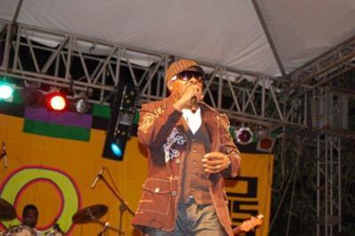 Reggae artist Sparticus