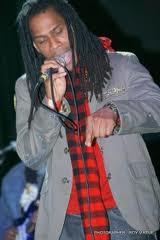 Reggae artiste Steele