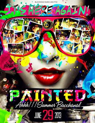 Summer Bacchanal Painted 2013