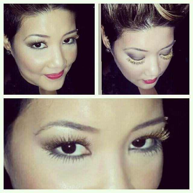Tessanne Chin's Eyelashes