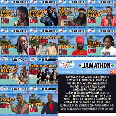 The JAMATHON takes place at the Red Stripe oval Nov. 22, 2017