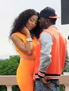 Scene from D'Angel & G Whizz video shoot