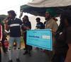 Govana donates to Chronixx Foundation