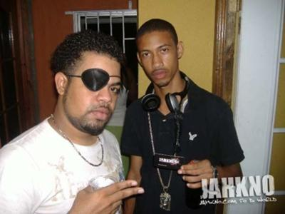 DJ Kitt (righ) alongside his brother, DJ Ali Patch