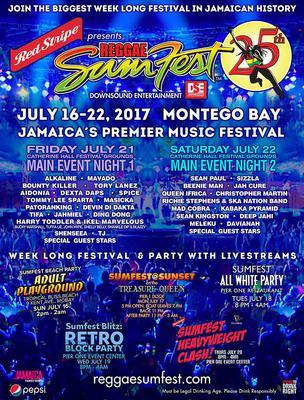 #ReggaeSumfest2017