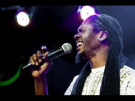 Reggae artiste Ras Slick enjoying tour