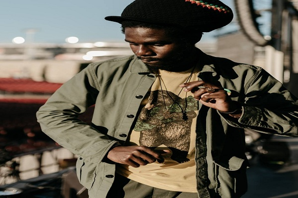 Reggae artist Chronixx